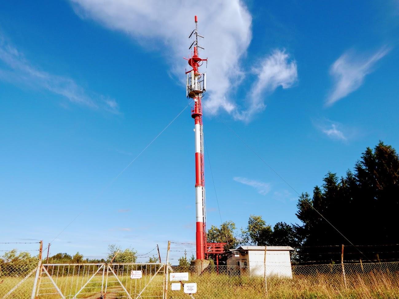 Szentgotthárd/Akasztó-hegy - DVB-T gapfiller+helyi URH-FM adóállomás