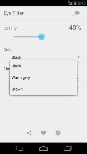 Eye Filter (Blue light filter) 9.0.0 screenshots 2
