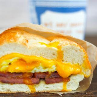 New Jersey Egg Sandwich.