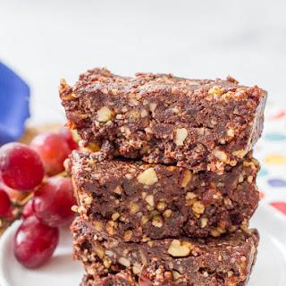 5-ingredient Raw Date Brownies