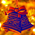 christmas bell wallpaper icon