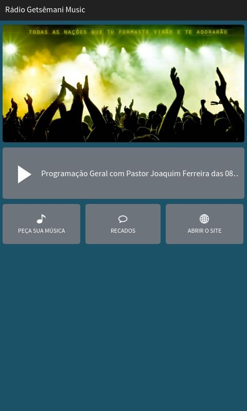 Rádio Getsêmani Music- screenshot