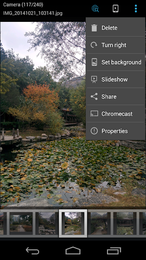 ES Chromecast plugin screenshot 1