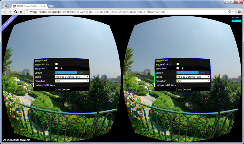 Oculus Rift GUI by Markus Sprunck | Experiments with Google