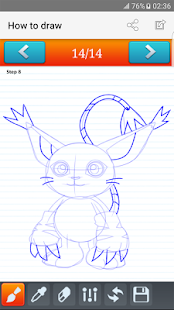 Download how to draw Digimon for Windows Phone apk screenshot 1