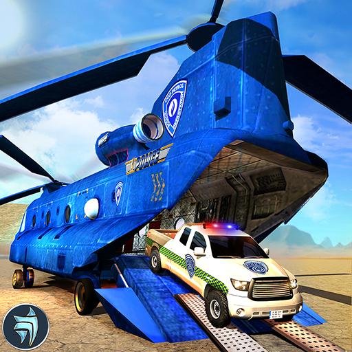 OffRoad Police USA Truck Transport Simulator