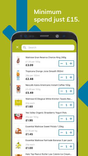 Ocado Zoom grocery delivery screenshot 3