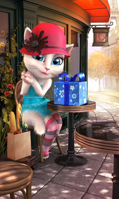 Screenshots of Talking Angela for iPhone