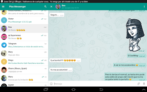 Plus Messenger Screenshot 9