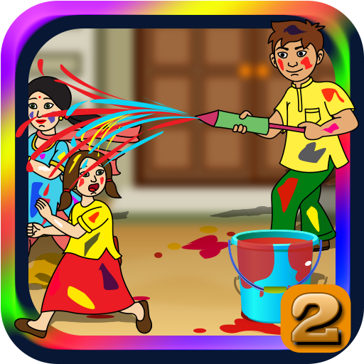 Lets Play Holi 2 Game (game)