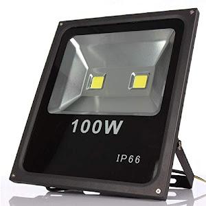 Proiector slim LED 100 W, waterproof IP66