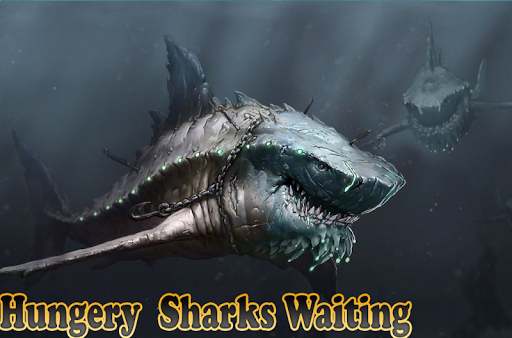 Mega Shark hunting  : Shark Games apktram screenshots 6