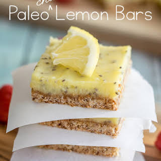 Paleo Lemon Bars.