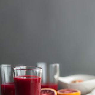 Carrot, Beet, Blood Orange, Ginger, Turmeric Juice