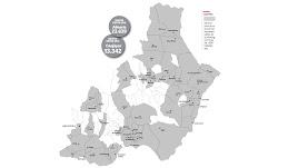 Municipios de la provincia representados en el ránking con más de 1.000 habitantes.