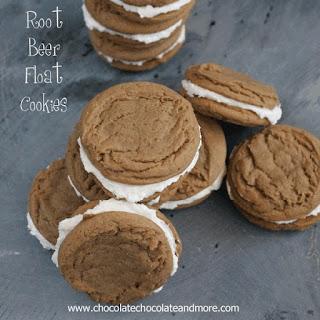 Root Beer Float Cookies.