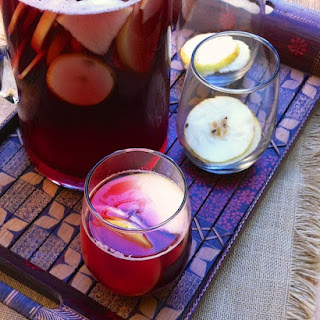 Apple Gingersnap Sangria