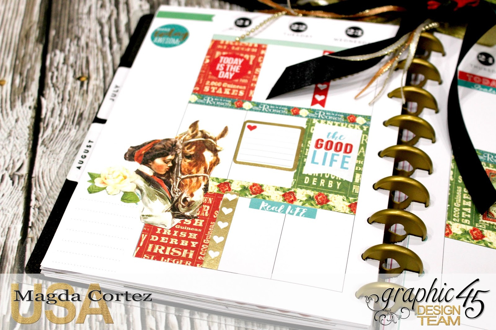 26. My G45 Planner August, Off To The Races By Magda Cortez, Product By Graphic 45, Photo 26 of 26..jpg