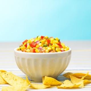 {Copycat Recipe} Chipotle's Roasted Chili-Corn Salsa.