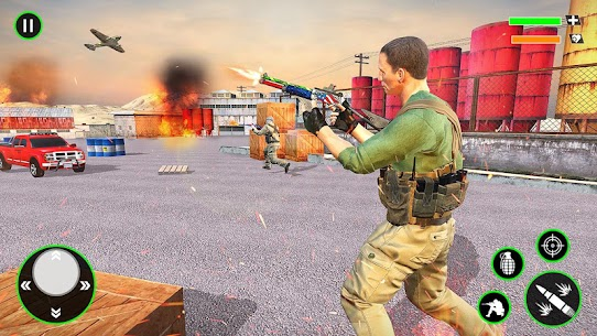Gun Shooting Strike: Commando Games 5