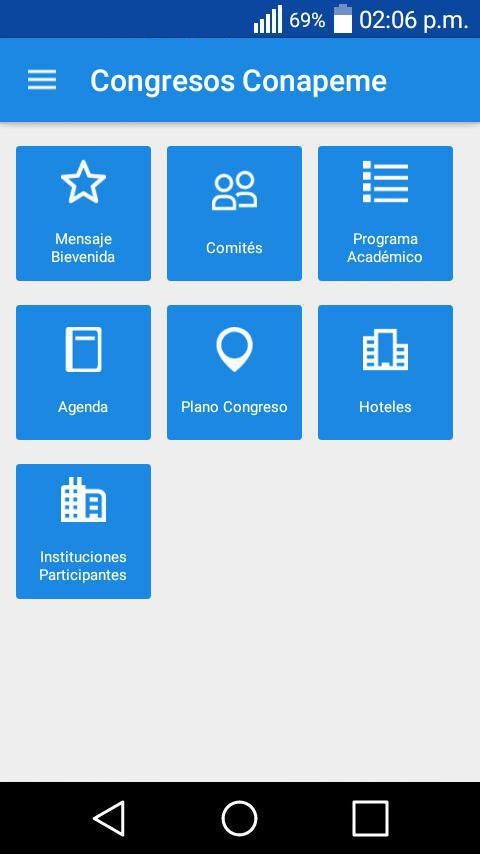 Congreso Conapeme- screenshot