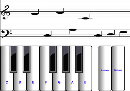 ¼ learn sight read music notes - piano sheet tutor  screenshots 2