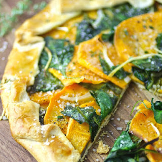 Sweet Potato and Spinach Galette