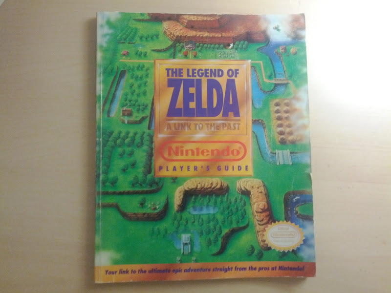 Photo: The Legen of Zelda: A Link to the Past Players Guide