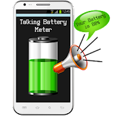 Talking Battery Meter