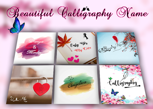Calligraphy Name for PC