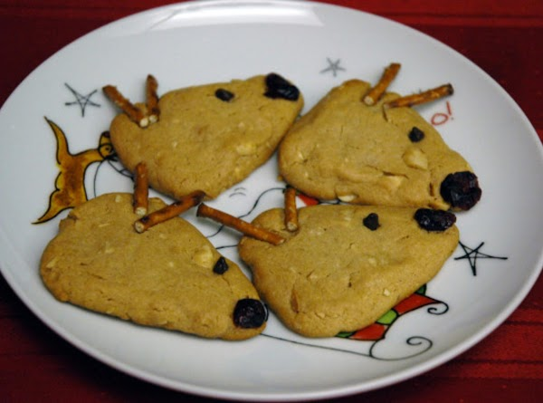 Rudolph The Red Nose Reindeer Cookies Recipe