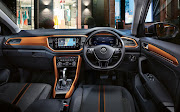 The T-Roc interior is spacious, digital and can be personalised to be very colourful.    Picture: SUPPLIED