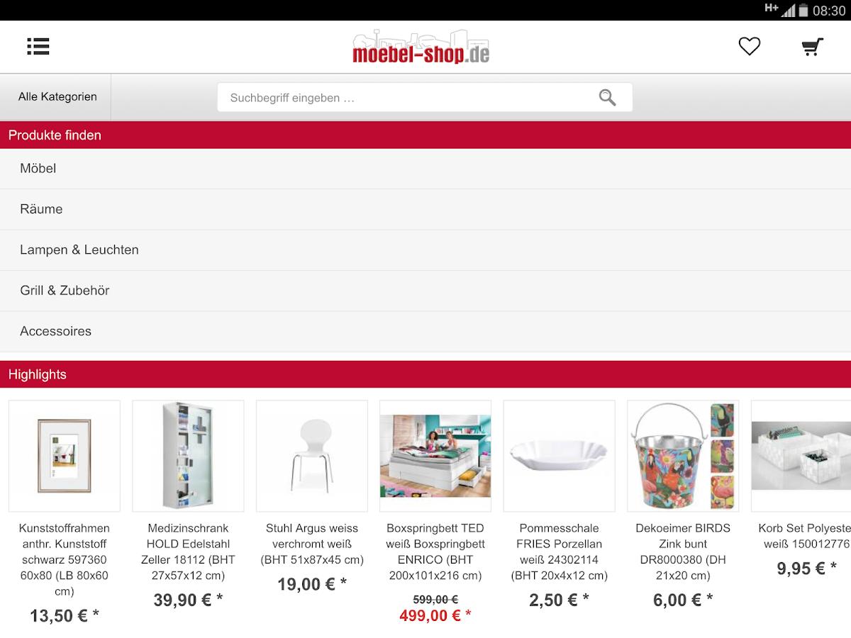 moebel android apps on google play. Black Bedroom Furniture Sets. Home Design Ideas