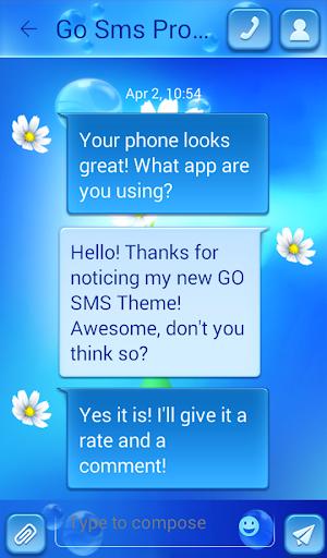 GO短信加强版花 個人化 App-愛順發玩APP