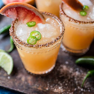 Spicy Grapefruit Margarita..