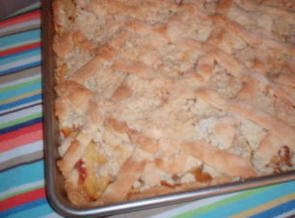 Bake And Take Peach Coffee Cake Just A Pinch Recipes