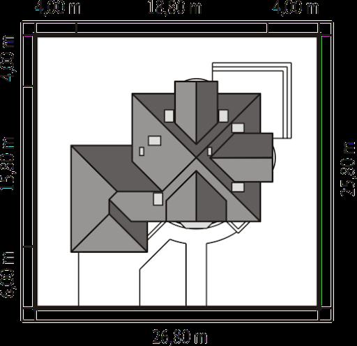 Artemida G2 - Usytuowanie