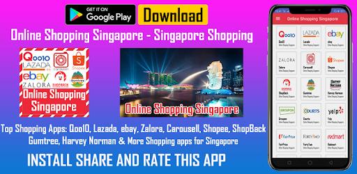 Singapore Online Shopping App Qoo10 Lazada ebay Zalora Carousell Shopee ShopBack