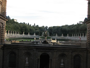 Photo: A glimpse of the Boboli Gardens