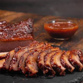 Pressure Cooker Barbecued Beef Brisket.