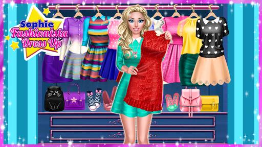 ud83dudc57 Sophie Fashionista - Dress Up Game  screenshots 16