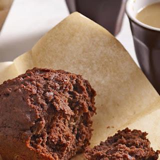Chocolate Banana Yogurt Muffins.