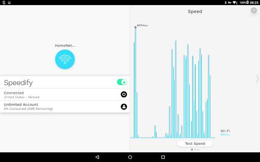 Speedify - Bonding VPN screenshot 7