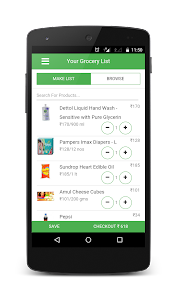 GrocShop- Grocery in minutes ! screenshot 1