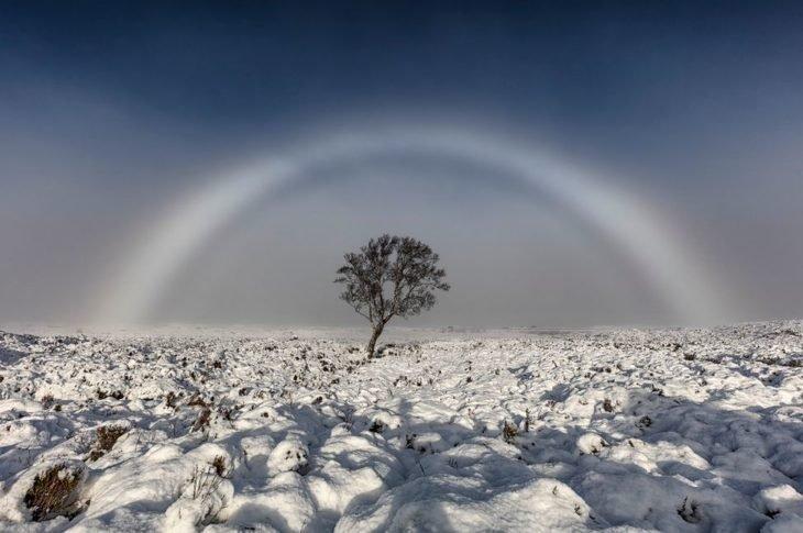 arco-íris branco