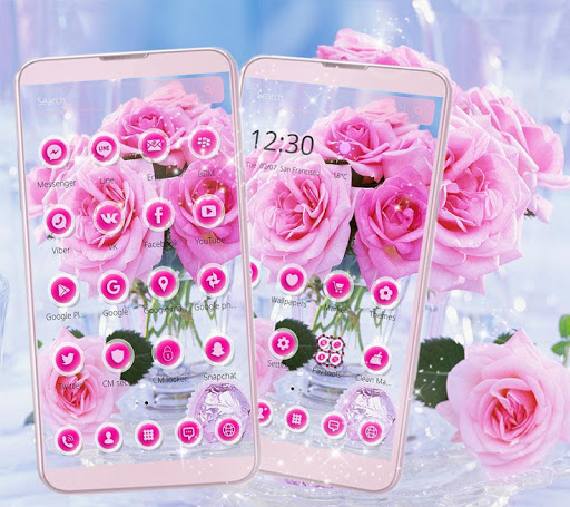 Pink Rose Love Theme 1.1.2 screenshots 8