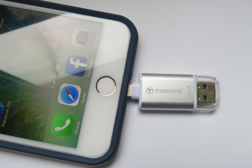Đánh giá USB Lightning 3.1 - JetDrive Go 300S 32GB - 163516
