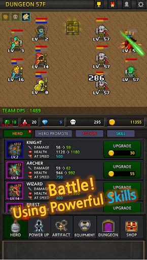 Grow Heroes - Idle RPG 5.7 screenshots 1