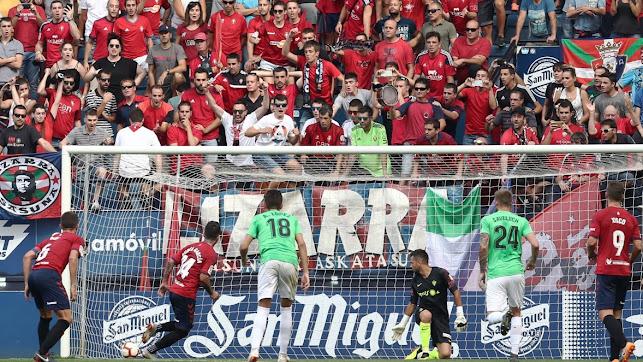 Dos de los tres goles en Pamplona fueron en la 2ª parte.