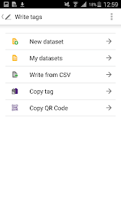 NFC TagWriter by NXP- screenshot thumbnail